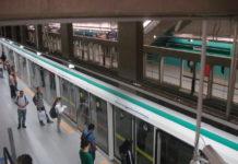 Carnaval Estação Sacomã da Linha 2-Verde do Metrô volta do feriado
