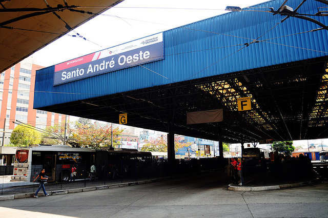 Terminal Santo André programação cultural