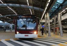 locais de votação frota de ônibus Virada Cultural SP Terminal Pinheiros fuvest 2018