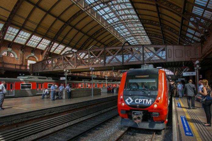 Entrega de Trem da CPTM