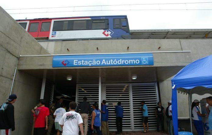 Estação Autódromo Linha 9 Esmeralda