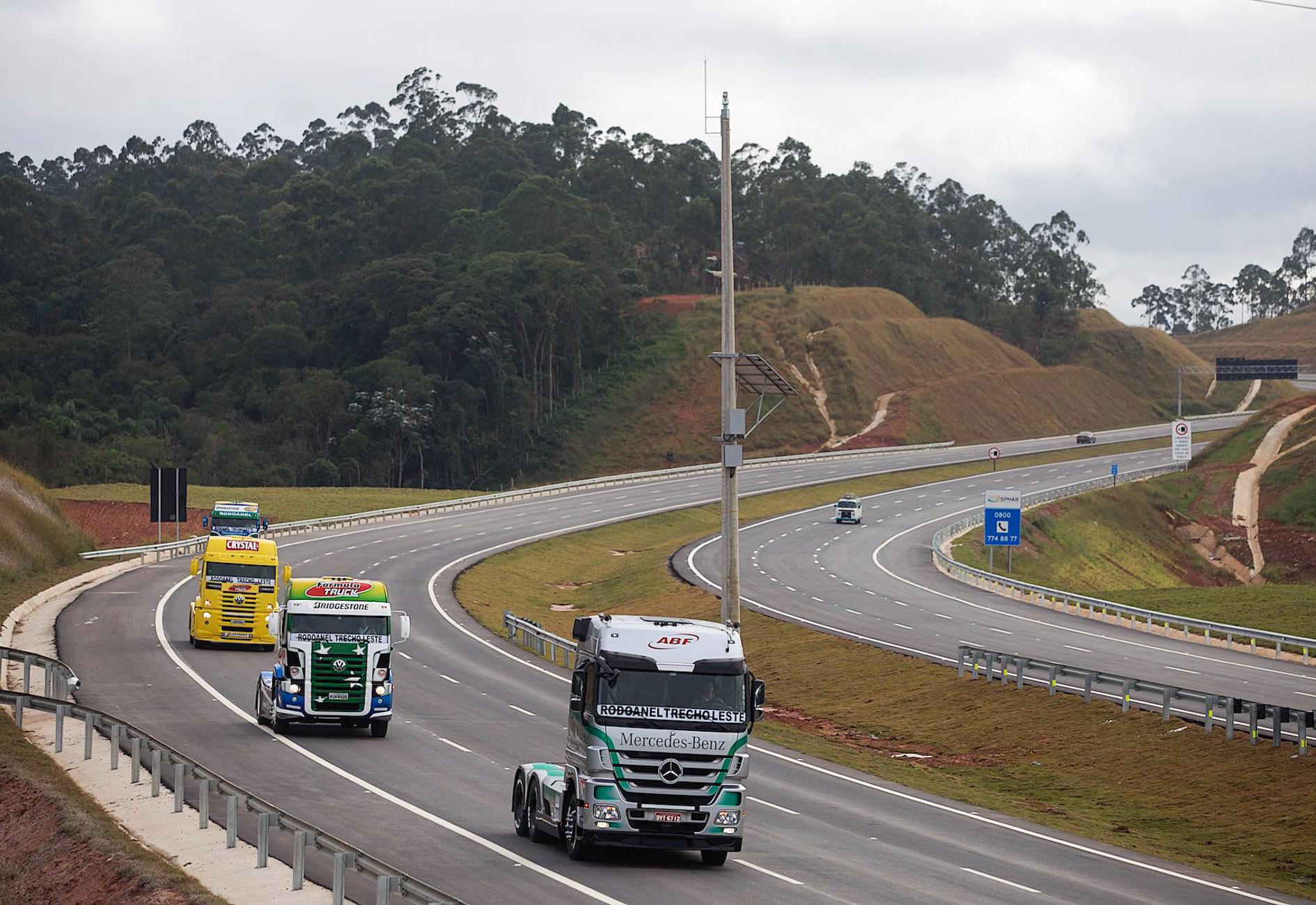 A obra contribuirá para a redução de congestionamentos e queda de níveis de poluição na cidade de São Paulo. Foto: A2img / Daniel Guimarães