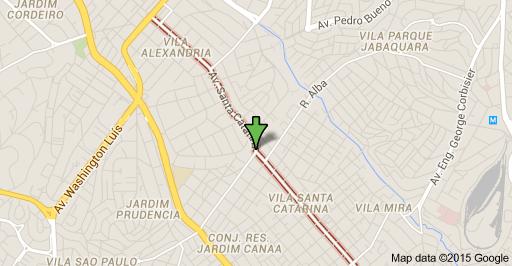 Avenida Santa Catarina Jabaquara sptrans linha 5010