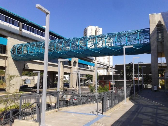 Linha 15-Prata Testes estação Vila Prudente Oratório Concessão
