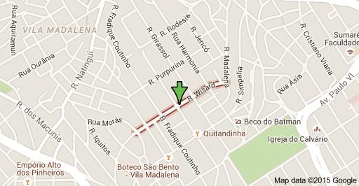 Rua Wisard Vila Madalena