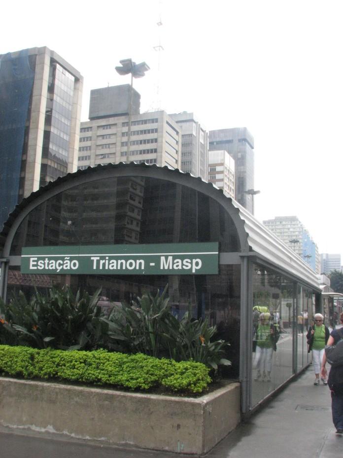 Estação Trianon-Masp Linha 2-Verde