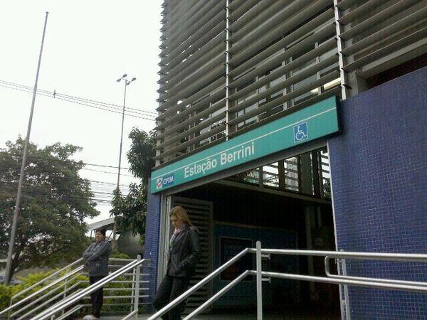 Estação Berrini da Linha 9-Esmeralda