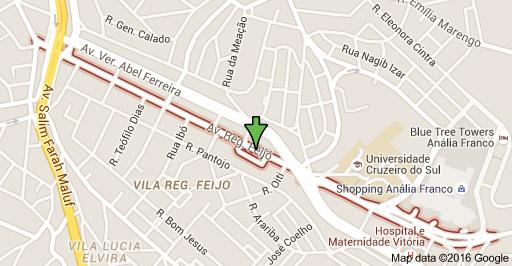 Avenida Regente Feijó Universidade Cruzeiro do Sul