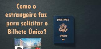 bilhete estrangeiro