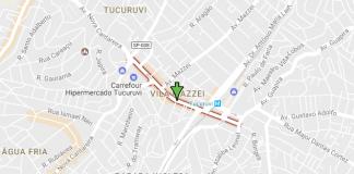 Avenida Tucuruvi Metrô Tucuruvi