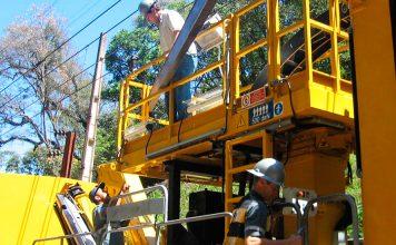 Obras de modernização feriado prolongado fim de semana
