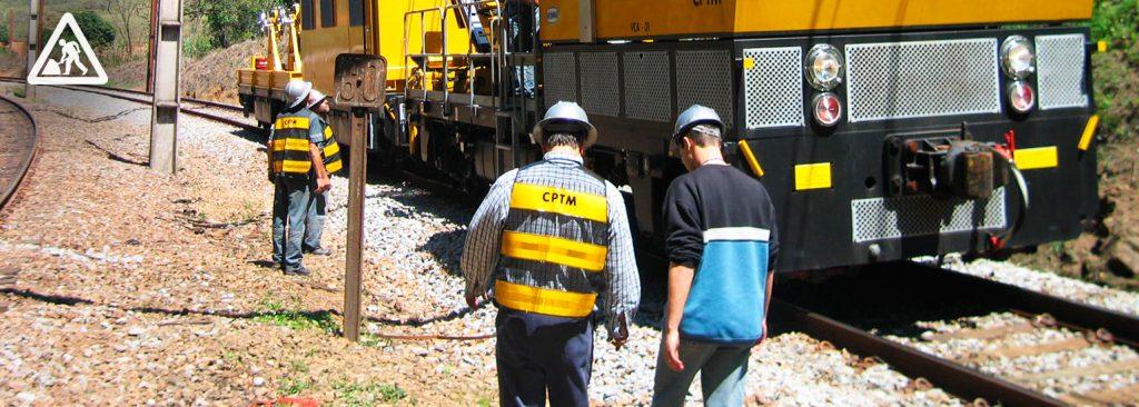 obras trens da CPTM circulação dos trens Obras de modernização CPTM linhas Obras CPTM Obras de modernização fim de semana