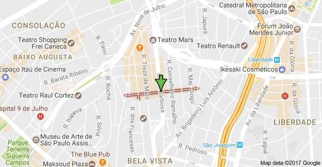 Rua Conselheiro Carrão