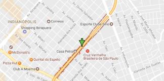 Vinte e Três de Maio Avenida Moreira Guimarães