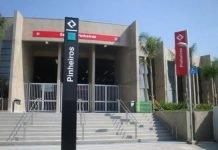 Estação Pinheiros da Linha 9-Esmeralda