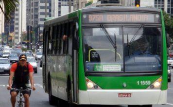Bicicleta ônibus municipais