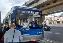 Maio Amarelo frota de ônibus