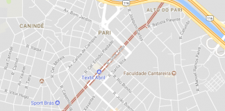 Rua Silva Teles Metrô Santana