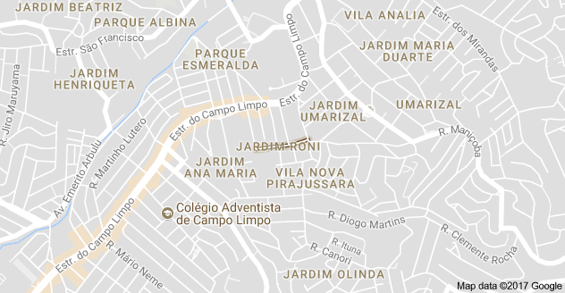 Rua Catiara Campo Limpo