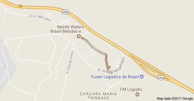 Rua Enéas Camargo Chácara Maria Trindade