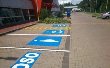 vagas estacionamento vagas especiais fiscalização