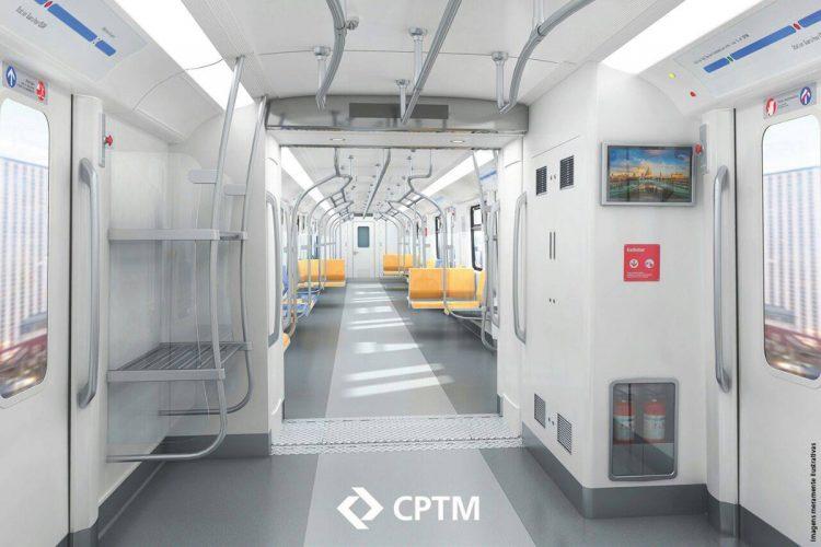Trem da Linha 13 Jade