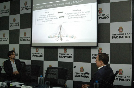 Waze Prefeitura de São Paulo