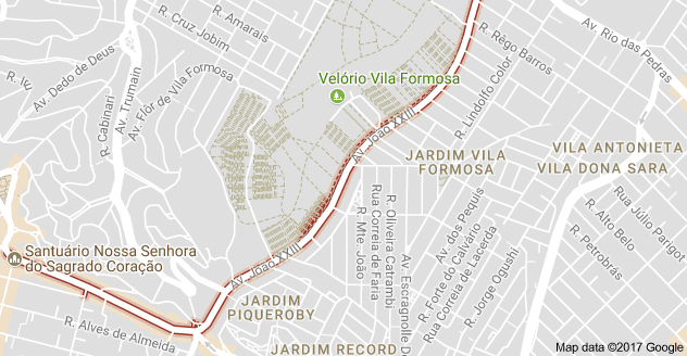 Avenida João XXIII cemitérios
