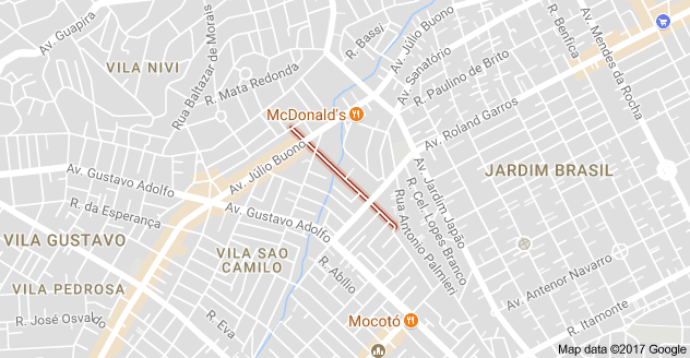 Vila Medeiros Rua Tosca
