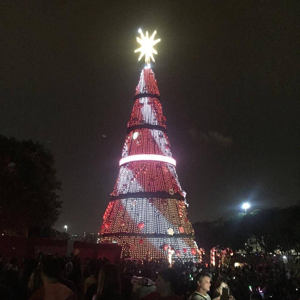 árvore de natal do ibirapuera 2017