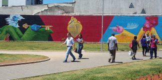 mural estação suzano
