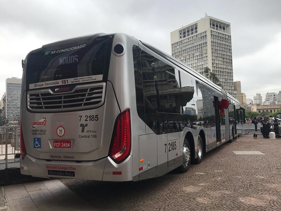 ônibus novos sp 2017