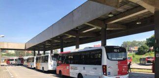terminal cidade tiradentes Greve dos Caminhoneiros