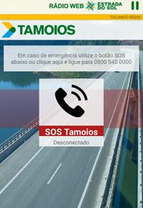 aplicativo rodovia dos tamoios