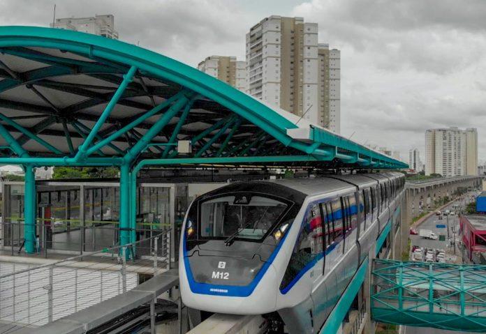 Estações do monotrilho Linha 15-Prata