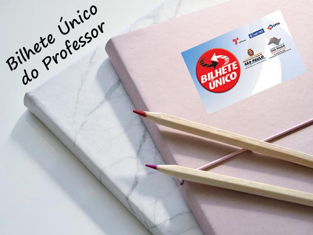 bilhete único do professor