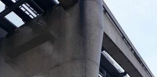 pilares do monotrilho
