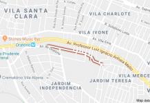 Avenida Secondino circulação