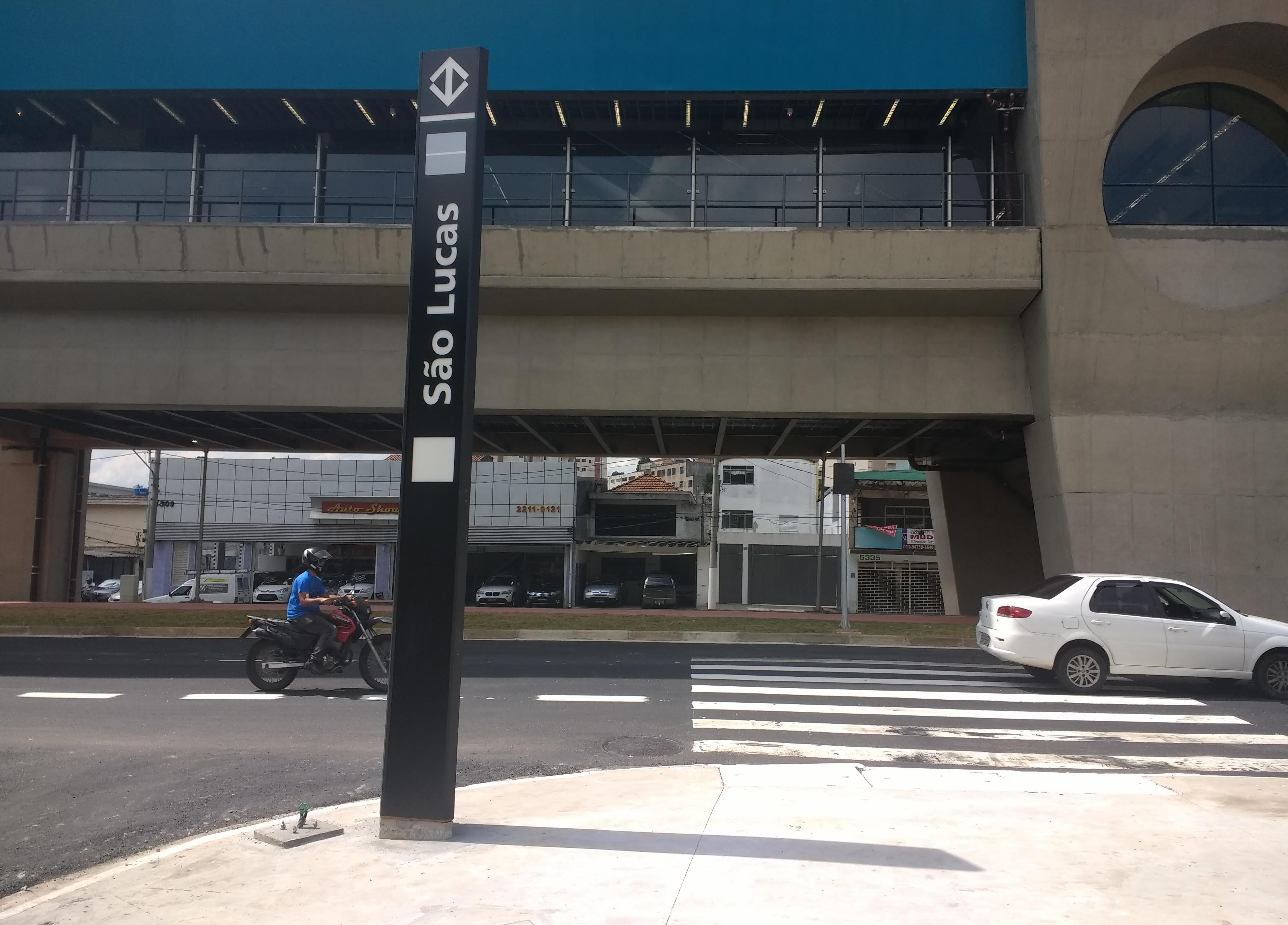 Estação São Lucas do monotrilho