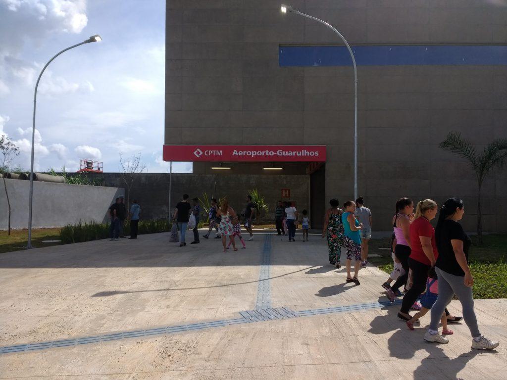 acesso estação aeroporto