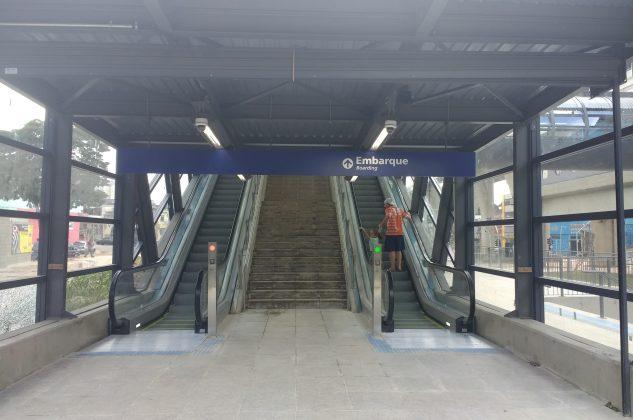 acesso estação camilo haddad