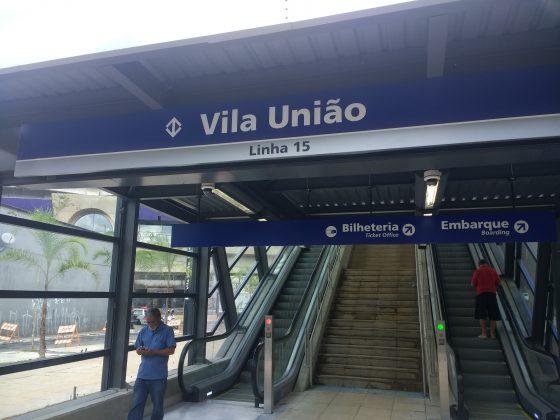 acesso vila união