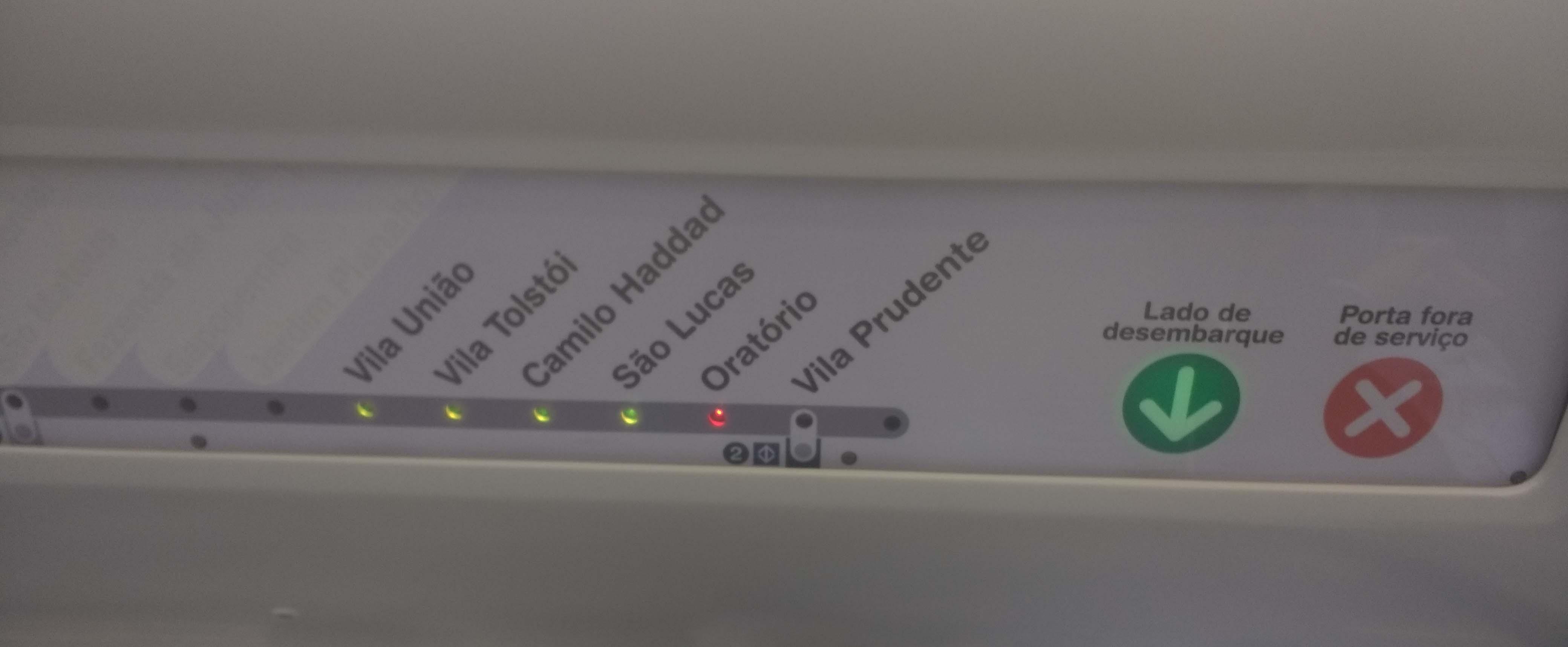estações da linha 15 prata