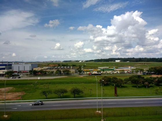 pista de pouso do aeroporto de guarulhos