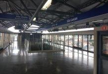 plataforma da estação são lucas Linha 15-Prata