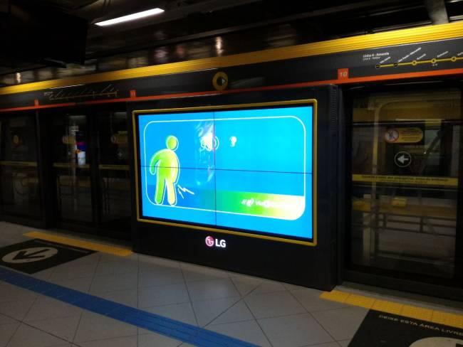 portas interativas publicidade