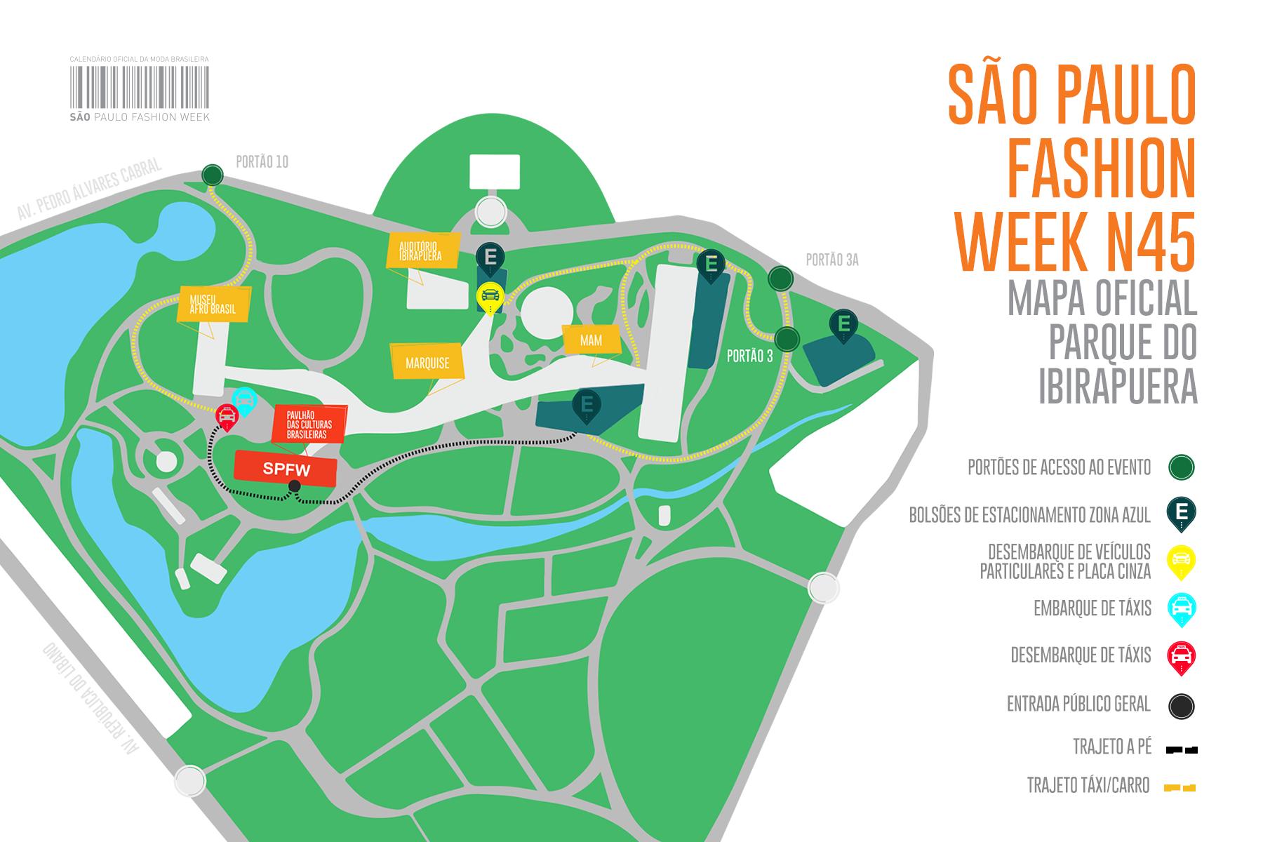 são paulo fashion week mapa oficial