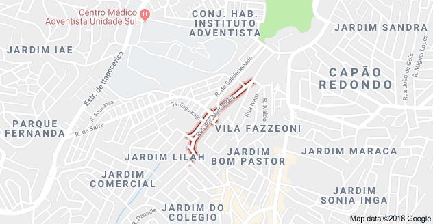 Rua dos Mercantéis Vila Fazzeoni