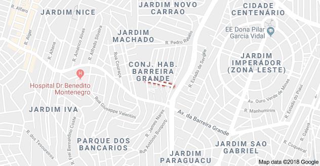 Rua Frederico Quércia Barreira Grande
