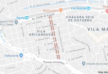 Rua Frei Mont'Alverne Metrô Penha